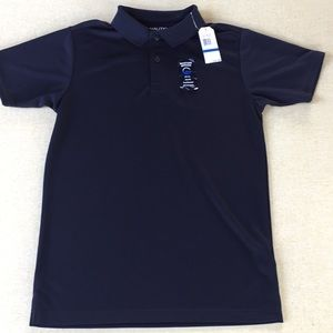 Boys Navy NAUTICA School Polo Shirt XL 18 Uniform